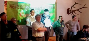 représentants des personnels face au CA ONCFS 11 12 15