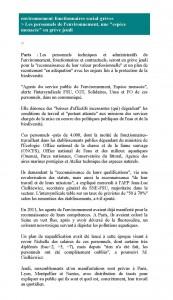 AFP environnement-fonctionnaires-social-grèves